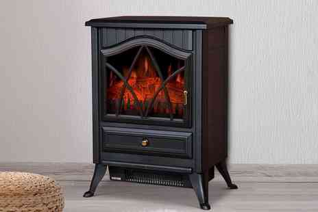 Groupon Goods Global GmbH - HomCom Electric Fireplace in Choice of Design With Free Delivery - Save 29%