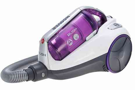 Groupon Goods Global GmbH - Hoover Rush RU80RU12001 Cylinder Vacuum - Save 72%