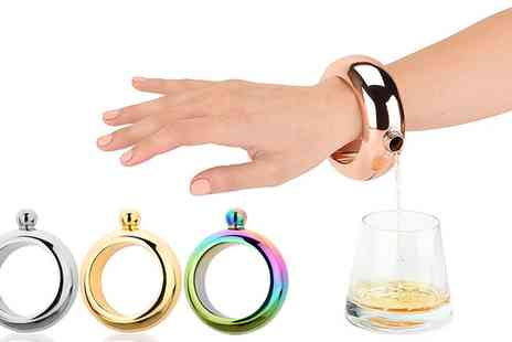 Groupon Goods Global GmbH - One or Two Flask Bracelet in Choice of Colour - Save 70%