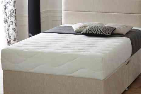 Groupon Goods Global GmbH - Cool Blue Memory Mattress With Free Delivery - Save 83%