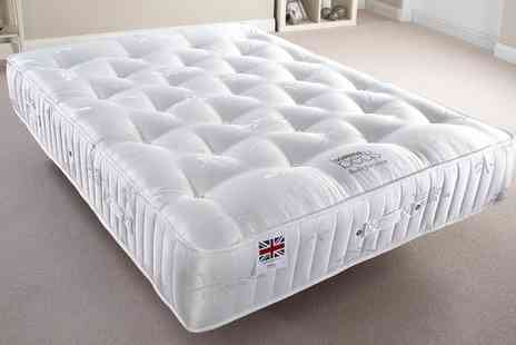 Groupon Goods Global GmbH - 3000 Optimum Pocket Sprung Mattress With Free Delivery - Save 46%