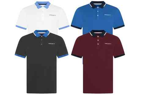 Groupon Goods Global GmbH - Hackett Langley Mens Polo Shirt - Save 0%