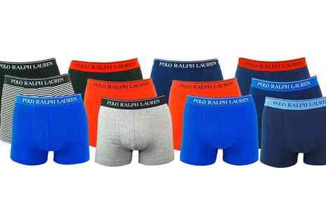 Groupon Goods Global GmbH - Polo Ralph Lauren Boxers Three Pack - Save 0%
