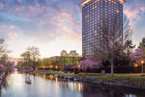 Hotel Okura Amsterdam - Five Star Panoramic Views in Heart of City Stay For Two - Save 74%