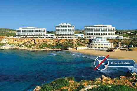 Malta Sunshine - Seven night 5 Star luxury Malta break with taxi transfers - Save 84%
