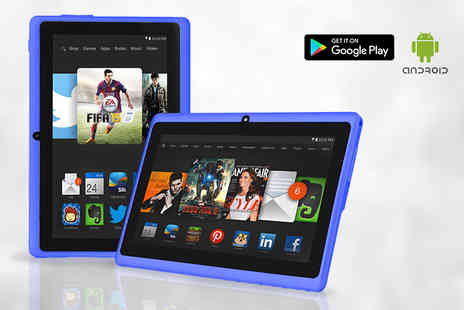 TecWizz - 7 inch dual core Android tablet - choose from three colours - Save 79%