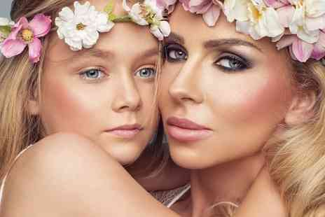 Flawless Studios - Mother and daughter makeover and photoshoot, a £50 gift voucher, Prosecco and two prints - Save 82%