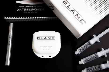 B10 Laboratories - Three week supply Blanc10 complete teeth whitening gel kit - Save 70%