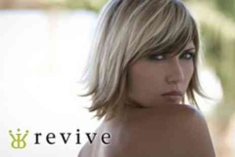 Revive - Highlights or Colour With Cut and Condition Plus ghd Straightening or Curls - Save 75%