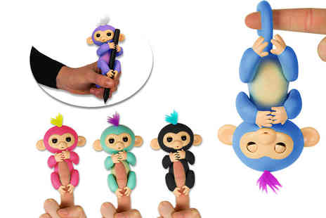 Quince and Harris - Interactive finger pet monkey - Save 70%