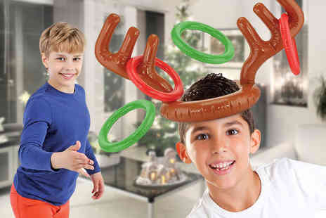 ViVo Technologies - Inflatable reindeer antler toss game - Save 72%