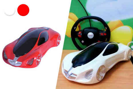 Toys Wizard - Remote control bounce rollover stunt car select from three colours - Save 52%