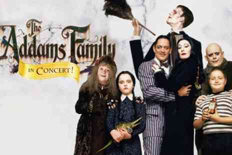 Royal Albert Hall - The Addams Family in Concert on 26 October - Save 40%
