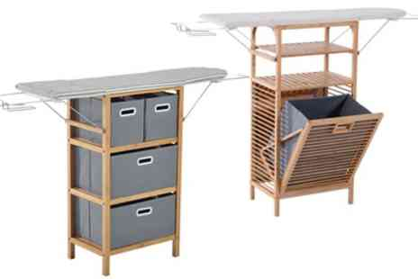 Groupon Goods Global GmbH - Ironing Board and Storage Unit in Choice of Design With Free Delivery - Save 0%