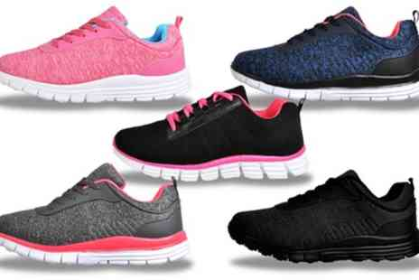 Groupon Goods Global GmbH - Womens Ultralite Shock Absorbing Comfy Trainers - Save 0%