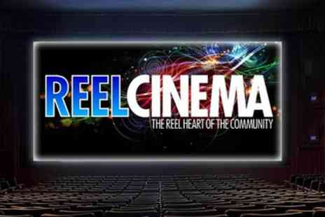 Reel Cinema Universal - Two Tickets to Reel Cinemas - Save 50%