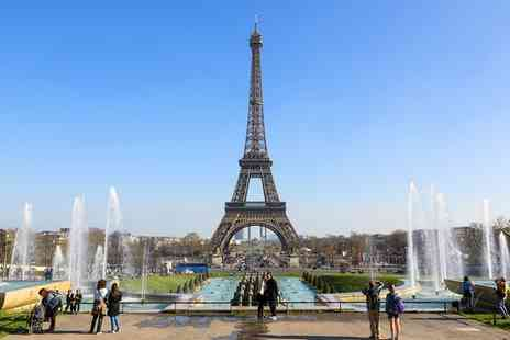Crystal Travel - One to Three Nights at a Choice of Hotels with Eurostar Tickets and Option for Eiffel Tower Tour - Save 0%