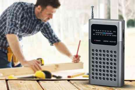 Groupon Goods Global GmbH - Portable Pocket Radio SZ240 in Choice of Colour - Save 58%