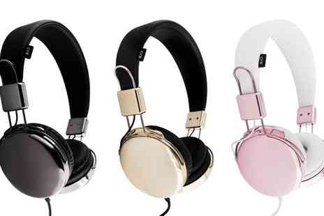 Groupon Goods Global GmbH - Urbanz Flash On Headphones in Choice of Colour - Save 60%