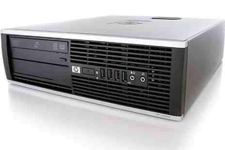 Groupon Goods - Refurbished HP Compaq 6000 SFF 160GB or 500GB - Save 0%