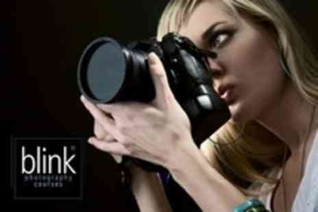 Blink Photography Courses - Half Day Introductory DSLR Photography Workshop Hosted by National Newspaper Photographers - Save 71%