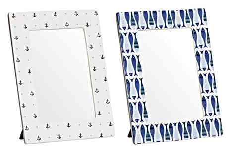 Groupon Goods Global GmbH - Nautical Photo Frame - Save 0%