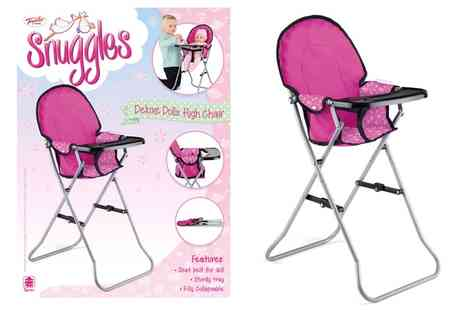 Groupon Goods Global GmbH - Toyrific Doll High Chair - Save 41%