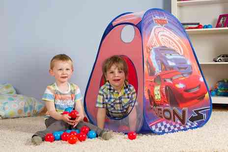 Groupon Goods Global GmbH - John Pop Up Tent with 30 Balls in Choice of Design - Save 54%