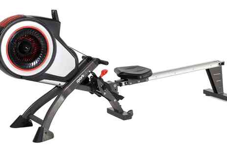 Groupon Goods Global GmbH - SportPlus Turbine Rowing Machine With Free Delivery - Save 38%