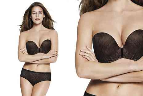 Groupon Goods Global GmbH - Wonderbra Ultimate Strapless Lace Bra - Save 0%