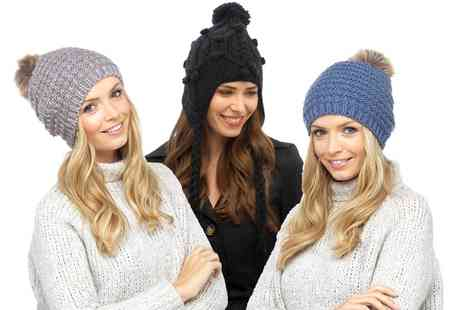 Groupon Goods Global GmbH - One or Two Womens Winter Hats - Save 0%