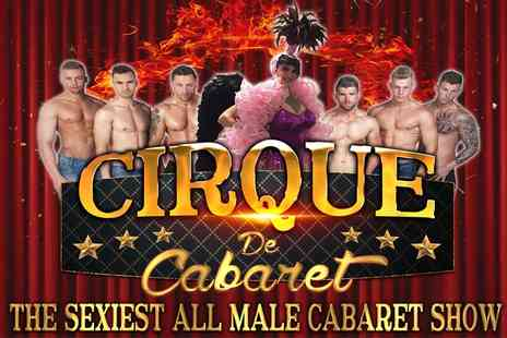 Cirque De Cabaret - One, Two or Four Tickets to Cirque De Cabaret on 21 October to 31 December - Save 0%