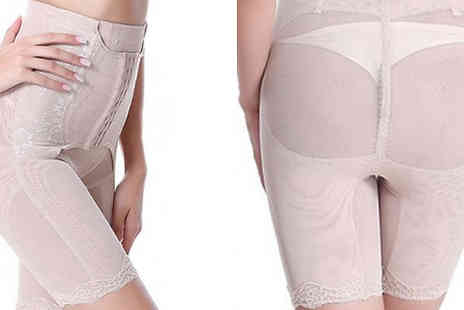 Anarchy - Leg Shaping Corset Control Pants Available in 2 Colours - Save 77%
