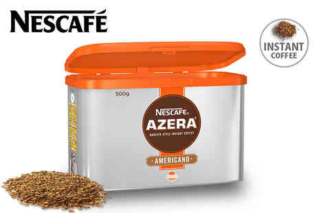 Eurovista2010 - 500g tin of Nescafe Azera Americano instant coffee - Save 50%