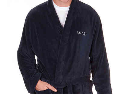 Who Runs the World - Fathers day luxury personalised robe - Save 71%