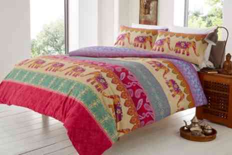 Groupon Goods Global GmbH - Elly Duvet Cover Set in Choice of Style - Save 63%