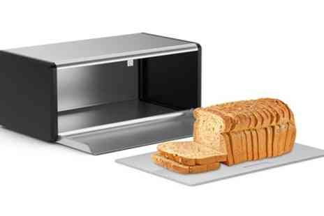Groupon Goods Global GmbH - Morphy Richards Bread Bin with Chopping Board - Save 60%