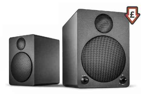 Groupon Goods Global GmbH - Wavemaster Cube 2.0 Bluetooth Speaker System With Free Delivery - Save 25%