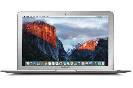 Groupon Goods Global GmbH - Refurbished Apple MacBook Air 11.6 Core i5 Processor 4GB RAM 128GB HDD A1465 With Free Delivery - Save 0%