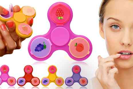Groupon Goods Global GmbH - One, Two, Three or Four Finger Spinners with Lip Balm - Save 85%
