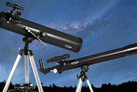 Groupon Goods Global GmbH - Zennox Refractor Telescope or Zennox Reflector Telescope  - Save 75%