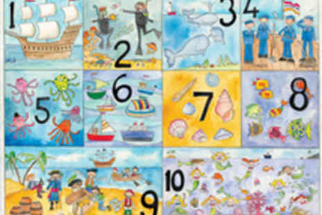 Really Giant Posters - Two giant posters teach your toddler the alphabet and numbers - Save 50%