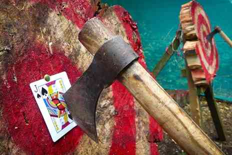 Live For Today Adventures - Tomahawk Axe Throwing Session for One or Two - Save 47%