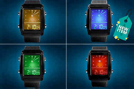 Anielas - Digital LED sport watch - Save 71%