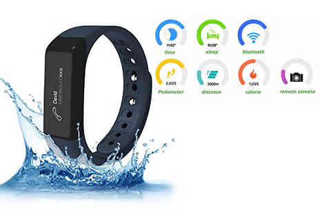 Max Strength - Ultrek 10 in 1 Bluetooth fitness tracker - Save 78%