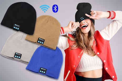 City Sharp - Wireless Bluetooth hat - Save 75%