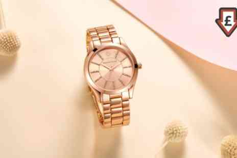 Deal Of Fame - One or Two Timothy Stone Womens Watches Made with Crystals from Swarovski With Free Delivery - Save 87%