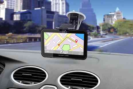 Groupon Goods Global GmbH - One or Two GoSmart GPS Navigation Systems with Optional 32GB SD Card - Save 81%