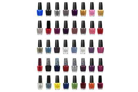 Groupon Goods Global GmbH - Ten or Fifteen O.P.I. Nail Polishes - Save 81%