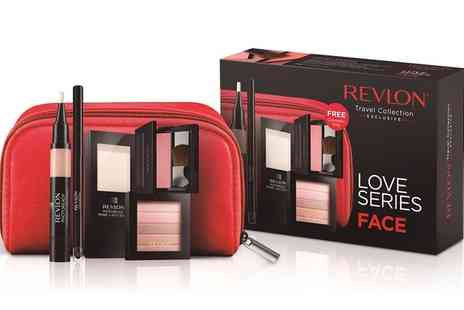 Groupon Goods Global GmbH - One or Two Revlon Love Series Face Make Up Six Piece Gift Sets - Save 43%